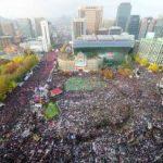韓国デモ最新情報!赤化の恐怖と愛国保守派の太極旗デモ