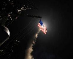 シリアミサイル攻撃