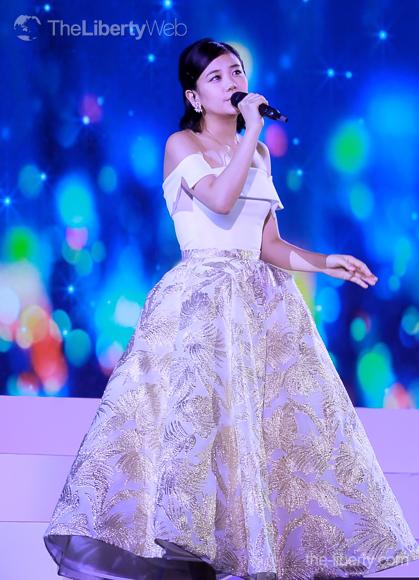 千眼美子(清水富美加)が東京ドームで大復活!「眠れぬ夜を超えて」を生歌で初披露!